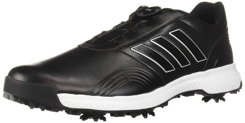Adidas CP Traxion BOA Golf Shoes Black/White/Silver,