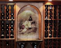 wine cellar design ideas pictures of wine cellar tile murals