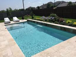 Swimming Pools Backyard by Custom Pool Builder The Woodlands Tx Cypress Tx Carnahan
