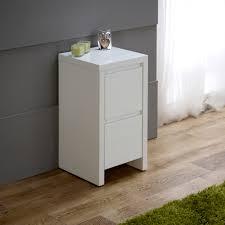 White Shiny Bedroom Furniture White High Gloss Slim 2 Drawer Bedside Table Master Bedroom