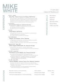 Basic Resume Examples Skills Stylish Idea Personal Resume 11 Cv Examples Skills Resume Example