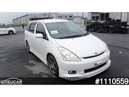 toyota wish used toyota wish from japan car exporter 1110559 giveucar