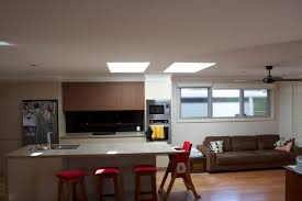 Lowes Kitchen Cabinets Bedroom Modern Kitchen Design With White Velux Skylights And