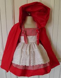 red riding hood boutique costume size 2t 3t 4t 5 6