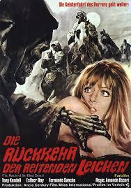 Return of the Evil Dead (1973) El ataque de los muertos sin ojos