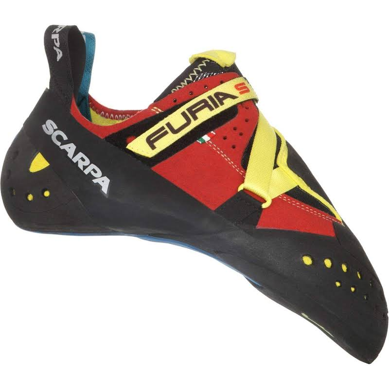 Scarpa Furia S Climbing Shoes Parrot/Yellow Medium 43 70055/000-ParYel-43