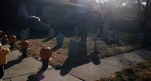 thrifty crafty 31 days of halloween diy gravestones