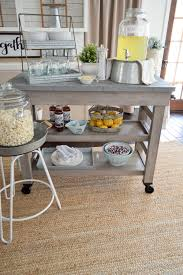 farmhouse kitchen island cart dish storage modern farmhouse and