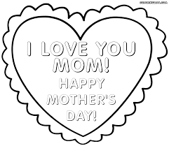 mother day coloring pages coloring pages to download and print