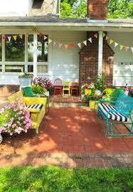 Cute Patio Furniture Google Search Home Pinterest Brick - Colorful patio furniture