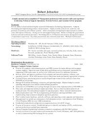 resume examples for project managers it resume resume cv cover letter it resume 11 amazing it resume examples livecareer templates project manager network systems execut resume templates