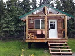 log cabins horseback riding and gold panning in alaska