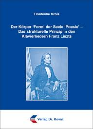 Dissertation  Der K  rper   Form   der Seele   Poesie       Das strukturelle Prinzip