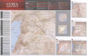Iraq Syria Map by