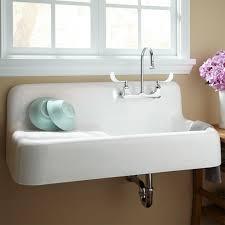 Kitchen Wall Mount Faucet Ideas Beautiful Fabulous White Wall Mount Kitchen Sinks For Sale