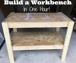 Basic Wood Bench Plans by The 25 Best Diy Workbench Ideas On Pinterest Work Bench Diy