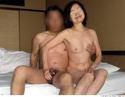 熟年熟年夫婦のセックス写真