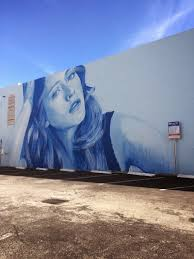 rone completes portrait mural in hollywood florida cube breaker rone mural