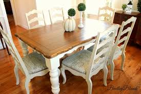 Chairs For Kitchen Table by Bentleyblonde Diy Farmhouse Table U0026 Dining Set Makeover With
