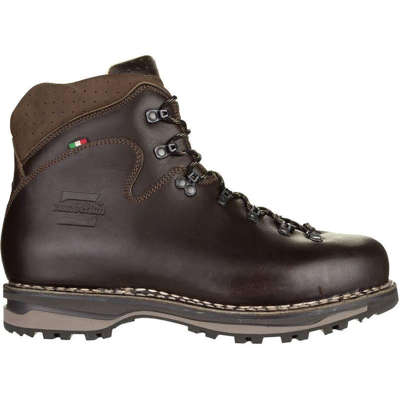 Zamberlan Latemar NW Hiking Boots Waxed Dark Brown Medium 8.5 1023WBM-Medium-8.5