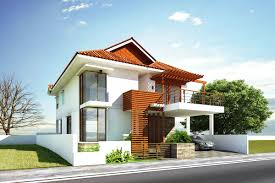 glamorous modern house exterior front designs ideas with balcony