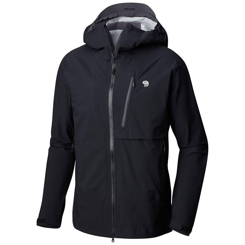 Mountain Hardwear Superforma Alpine Shell Jacket Black Large 1731871010-L
