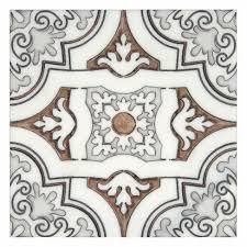 art deco tiles unique decorative accents 6x6 12x12 carrara marble