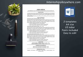 Download Resume Cover Letter Free Word Design Templates Resume Templates Creative Microsoft