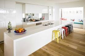decorations modern white kitchen with l shaped style perfect
