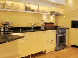 fresh kitchen furniture with green colors and long line kitchen