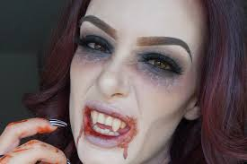 vampire fangs spirit halloween vampire halloween makeup 2015 youtube