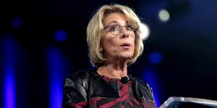 department of education betsy devos launches new idea website