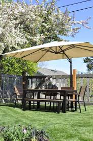 Tablecloth For Umbrella Patio Table by 25 Best Patio Umbrella Sale Ideas On Pinterest Tablecloths For