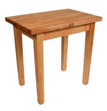 john boos country work table butcher block table
