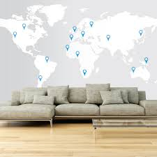 32 large world map wall decal world map wall sticker wall decal large world map wall decal