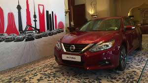 nissan altima 2013 in uae 2017 nissan altima reveal it u0027s new and its improved youtube
