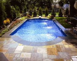 pool inspiring image of backyard decoration using white pool