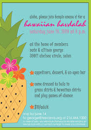 Retirement Function Invitation Card Hawaiian Luau Party Invitations Printable Features Party Dress