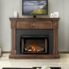 50 Electric Fireplace by Napoleon Braxton 50 Inch Electric Fireplace Burnished Walnut