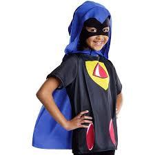 teen titans raven kids costume walmart
