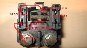 starter relay solenoid 101 yamaha grizzly atv forum