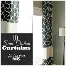 grace lee cottage diy semi custom curtains a tutorial