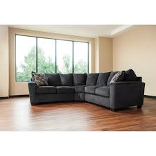 2 piece corner sectional with rounded track arms by benchcraft