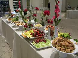 Wedding Reception Buffet Menu Ideas by To Give You An Idea Of Heavy Hors D U0027oeuvre Buffets Partie