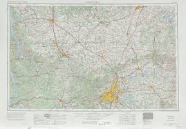 State Of Tennessee Map by Nashville Topographic Maps Tn Ky Usgs Topo Quad 36086a1 At 1