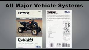 2001 2006 polaris sportsman 500 ho repair manual clymer m365 4