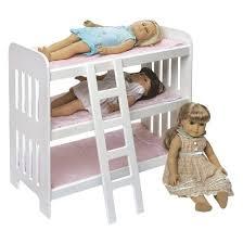 Badger Basket Triple Doll Bunk Bed With Ladder  Target - Ladder for bunk bed