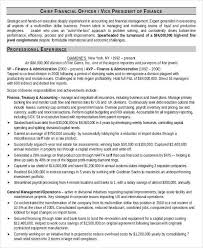 Financial Resume Sample by 8 Finance Resume Free U0026 Premium Templates