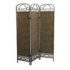 shutter room divider home decorators collection 5 83 ft natural 4 panel room divider