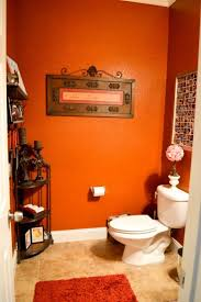 orange bathroom i one lived in a home with an orange bathroom and